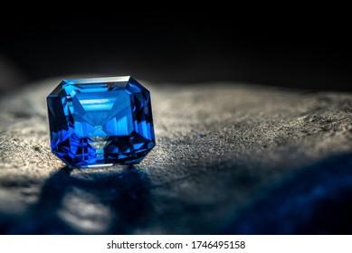 Sapphire Blue Luxury Precious Gemstone