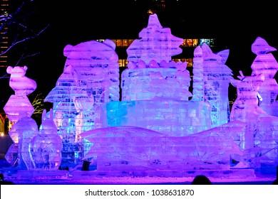 Sapporo Snow Festival 2018 (Sapporo Yuki Matsuri) Hokkaido