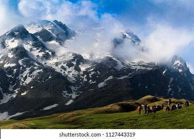 Sar Pass trek Summit 13900 ft