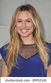 "Sarah Carter at the premiere of ""A Little Help"" at the Cary Grant Theatre at Sony Pictures Studios. July 14, 2011  Los Angeles, CA Picture: Paul Smith / Featureflash"