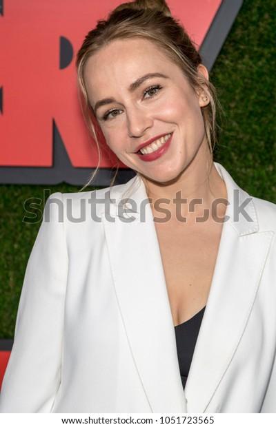 Sarah Goldberg Attends Premiere Hbo Barry Stock Photo (Edit