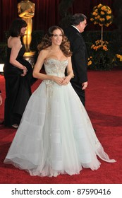 Sarah Jessica Parker at the 81st Academy Awards at the Kodak Theatre, Hollywood. February 22, 2009  Los Angeles, CA Picture: Paul Smith / Featureflash