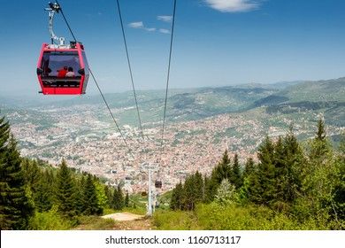Sarajevo, Bosnia and Herzegovina. Cable car