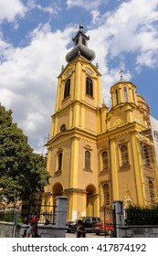 SARAJEVO, BOSNIA AND HERZEGOVINA - SEPTEMBER 4, 2009: Serbian orthodox cathedral of the Nativity of the Theotokos.