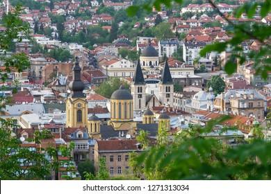 Sarajevo, the capital city of Bosnia and  Herzegovina