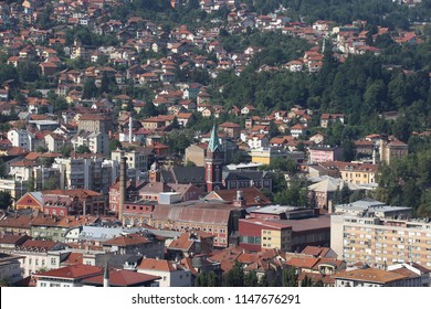 Sarajevo  is the capital and largest city of Bosnia and Herzegovina, with a population of 275,524 in its current administrative limits.