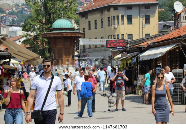 Sarajevo Capital Largest City Bosnia Herzegovina Stock Photo (Edit Now) 1147681703