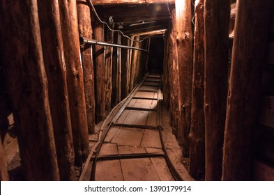 The Sarajevo Tunnel of Hope, the only connection between Sarajevo and the the outside world during the Seige of Sarajevo - Shutterstock ID 1390179914