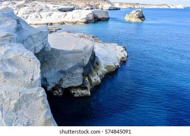 Sarakiniko (Milos Greece)