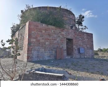 Sarangpur, Madhya Pradesh, India - 26 February 2019: Rani Roopmati-Baz Bahadur Mahal Saranpur, Baz Bahadur Khanwas the last sultan ofMalwa, who reigned from 1555 to 1562, Mandav Madhpradesh