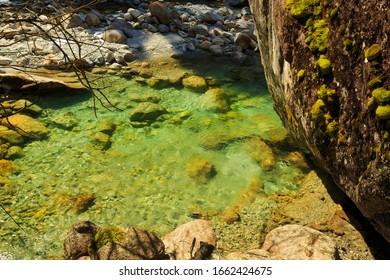 Sarca River, Adamello-Brenta Natural Park, Italy