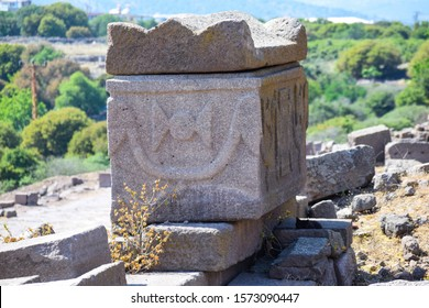 Sarcophagus in the Assos antcient city