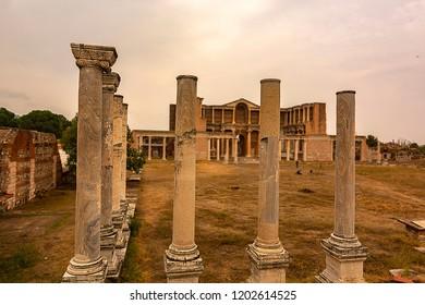 Sardes Ruins salihli,Manisa,Turkey