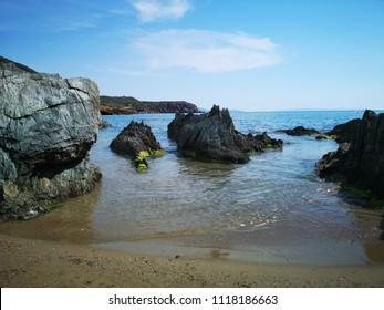 Sardinia Beach at Masua Pan di zucchero