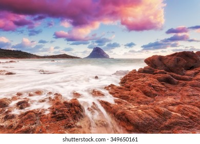 Sardinia beach sunrise