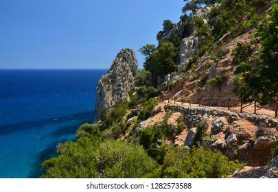 Sardinia Island, Pedra longa. Hiking Trail
