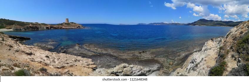 Sardinia panorama coastline