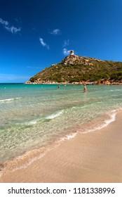 Sardinia, Villasimius, Porto Giunco beach