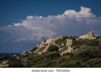 Sardinian Sky, Capo Testa, Sardinia