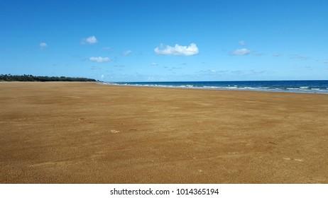 Sarina beach near Mackay, Queensland, Australia