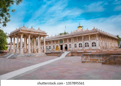 Sarkhej Roza is a mosque and tomb complex located in the village of Makarba, 7 km south-west of Ahmedabad in Gujarat state, India