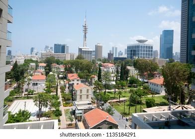 Sarona, A German templer settlement, Tel-Aviv, Israel