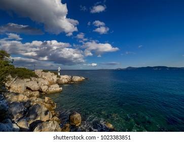 Saronic Gulf - Methana Greece