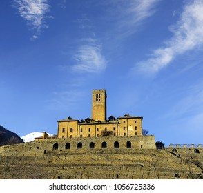 Sarre castle, the royal castle, Aosta Valley, Northern Italy
