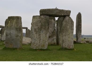 Sarsen stones of Stonehenge
