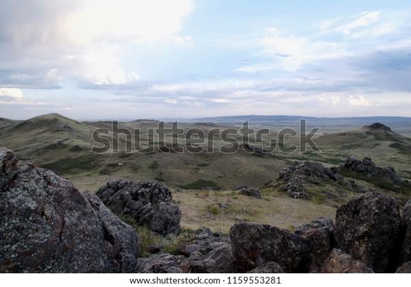 Sary-Arka - Kazakh hummocky topography