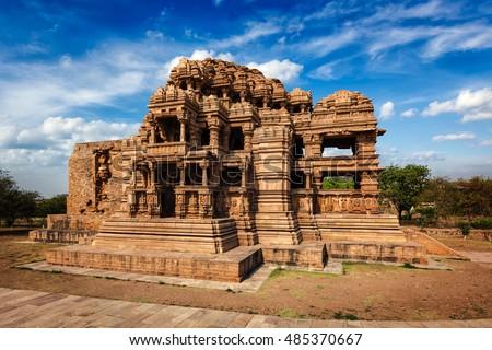 Photo De Stock De Sasbahu Sas Bshu Ka Mandir Sahastrabahu Temple
