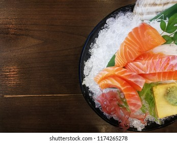 Sashimi is a favorite menu of japaness food . Easy to make this menu but so delicious.