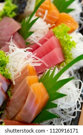 Sashimi set, Japanese food, Sashimi slice
