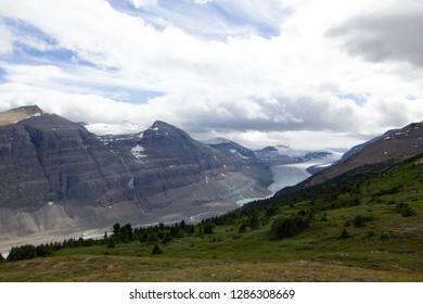 Saskatchewan Glacier seen from Parker Ridge