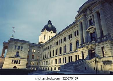 Saskatchewan Legislative Building in Regina, Saskatchewan, Canada