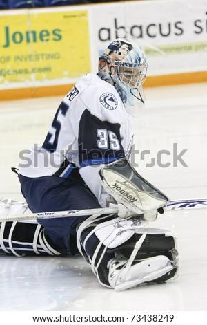 Saskatoon March 17 Goalie Steven Stanford Stock Photo Edit Now