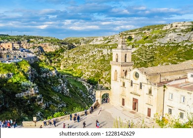 The Sassi di Matera, beautiful ancient stone town in Basilicata, southern Italy