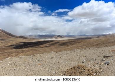 Sassyk-kul Lake are on East Pamir.