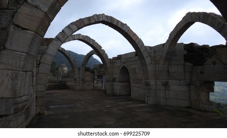 Sat Kaman (Seven Arches), Pavagadh, Gujarat State, India