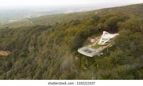 SATAPLIA CAVE, GEORGIA - September 25, 2018:  Sataplia Nature Reserve near Kutaisi