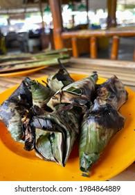 Satar. Terengganu's delicacies mainly popular in Kemaman area.