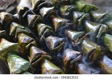 Satar is a famous traditional food from Terengganu, Malaysia.  It is made from fish fillets.  Satar is delicious cooked with a charcoal stove