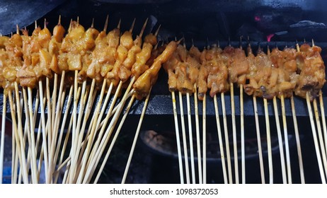 Sate Padang traditional food from West Sumatera