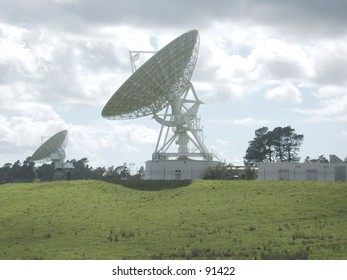 Satellite Communication Station in Northern New Zealand -1