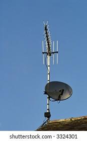 satellite dish tv arial