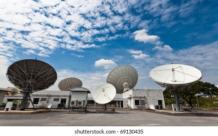 satellite earth stations