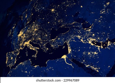 World Map Satellite Images Stock Photos Vectors Shutterstock