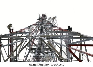 Satellited tower