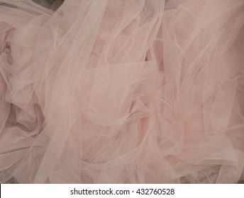satin. pink fabric. dusty pink.  tulle. Spring?colors. tenderness.