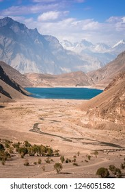 Satpara Lake, Skardu. It is a natural lake which supplu water to Skardu City, Pakistan. This lake is situated at the elevation of 8,650ft above sea level.